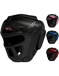 RDX Zero Impact Grill-X Leder Abnehmbarer Gesichtsschutz Kopfschutz