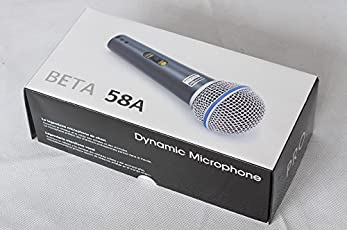 SKM Beta-58A Dynamic Vocal Karaoke Microphone With 3.5mm Connector