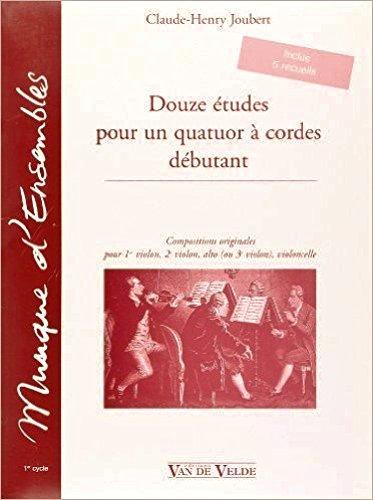 Douze études pour un quatuor à cordes ...
