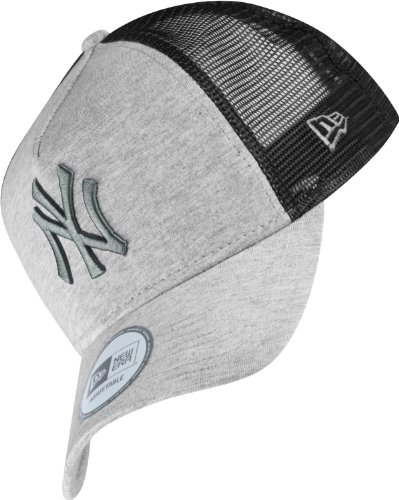 Trucker Adjustable NY Yankees Colour Blocked Grey / Graphite / Black New Era Cap - 9FORTY