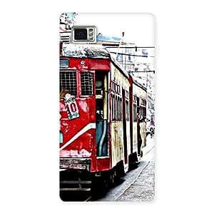 Impressive Calcutta Multicolor Back Case Cover for Vibe Z2 Pro K920