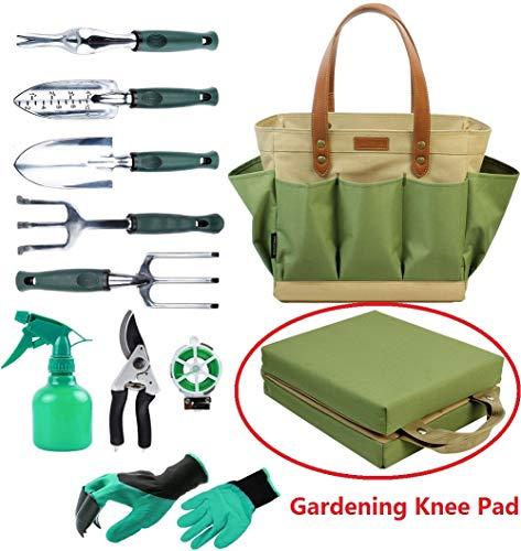 Garten Werkzeug Tote massiv Tasche mit 11 Stück Handwerkzeuge