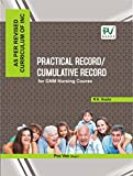 PV PRACTICAL RECORD/CUMMULATIVE RECORD BOOK FOR GNM NURSING COURSE