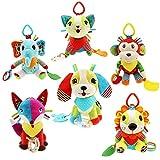 Hilai Spielzeug SKK Infant Plüsch Puppe hängende Bett für Kinder und Babys Krippe Spielzeug hängend (Fuchs) 1pc