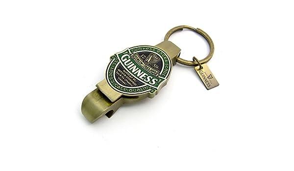James Gate Porte-cl/és ouvre bouteilles et cannettes avec design St collection Guinness Irlande