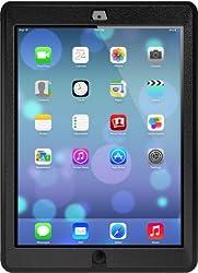 OtterBox Defender Apple iPad Air - Coque de protection pour tablette - polycarbonate, caoutchouc synthétique - noir - pour App