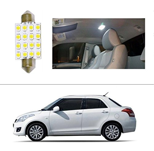 AutoStark 16 LED Roof Light Car Dome Light Reading Light For Maruti Suzuki Swift Dzire (Old)  available at amazon for Rs.99