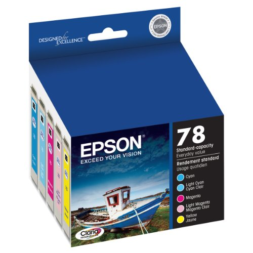 Cheap Epson Multipack 78 – Print cartridge – 1 x yellow, cyan, magenta, light magenta, light cyan Review