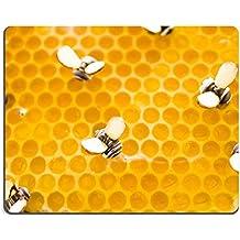 luxlady Gaming tapis de souris d'image: 20148800Chocolat Blanc Citron Miel Moule à Tarte sur un fond blanc