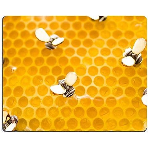 luxlady Gaming Mousepad imagen ID: 20148800Chocolate Blanco Limón Miel Tart sobre un fondo blanco
