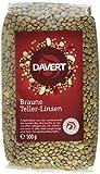 Produkt-Bild: Davert Braune Teller-Linsen, 4er Pack (4 x 500 g) - Bio