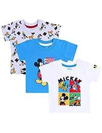 3X Camiseta Mickey Mouse y Amigos Disney