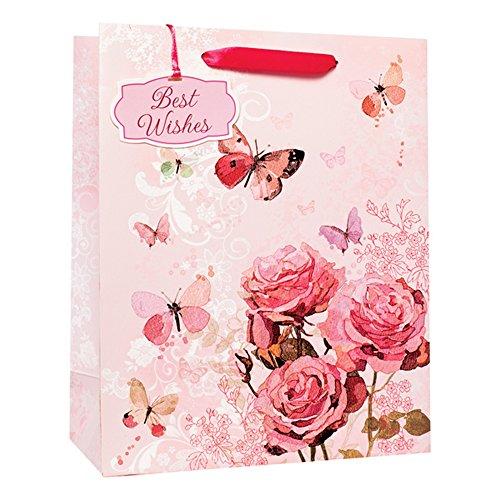 Simon-Elvin-Roses-Butterflies-Buste-regalo-Pacco-da-6
