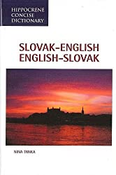 Slovak-English English-Slovak Dictionary (Hippocrene Concise Dictionary) (Language Dictionaries Series) by Nina Trnka (1992-06-01)