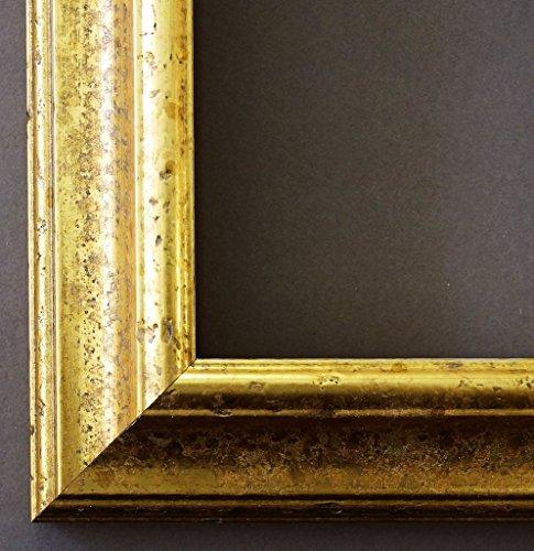 Online Galerie Bingold Holz - Bilderrahmen Genua Gold 4,3-20x30 - WRF mit Normalglas - 100 Größen