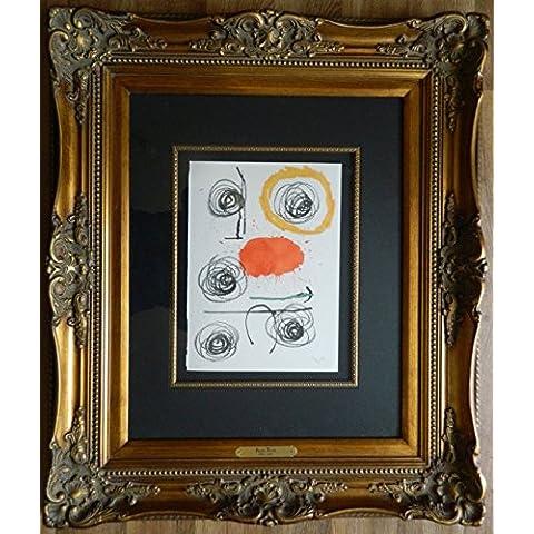 Joan Miro–de obra inedita reciente IV '–mano firmado y numerados Original Litografía–c1964(magnífico