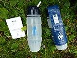NEW 2018 Travel Tap 'Flip Spout ' 800ml pure water filter bottle - 1600 litres
