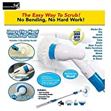 SIGNATRON ABS Plastic Electric Spinning Scrubber Machine Floor Cleaning Bathroom Tiles Cleaner Tool