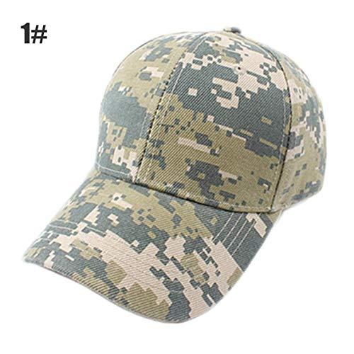 Heaviesk Baseballmütze Camouflage Navy Kappen US Marines Armee Fans Casual Sports Armee Visiere Navy Seal (Us-marine-kappe)