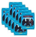 Panini - Dragons 3 Das Buch der Drachen Sammel-Sticker - 10 Booster Tütchen 50 Sticker