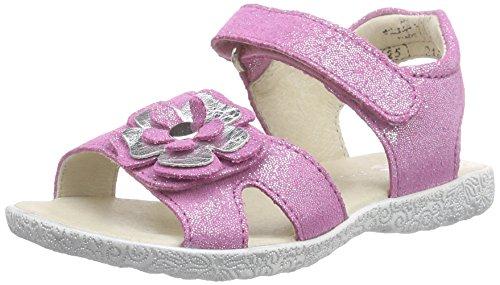 Richter Kinderschuhe Sissi, Sandales ouvertes fille Rose - Pink (lollypop/silver  3701)