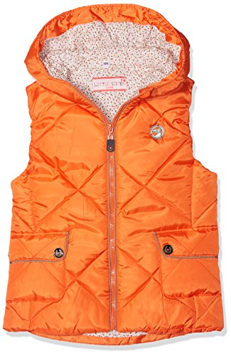 HKM Kinder Reitweste -Sweetheart- Weste, orange, 110/116