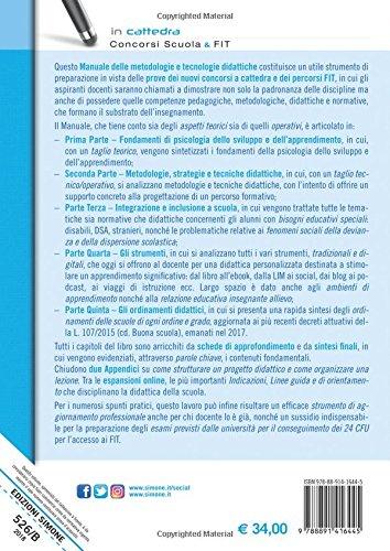 scaricare ebook gratis Manuale delle metodologie e tecnologie didattiche. Manuale di preparazione alle prove metodologico-didattiche dei concorsi a cattedra e dei FIT. Con espansione online PDF Epub