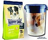 Happy Dog 2 x 10 kg + Futtertonne 43 Liter Supreme Junior Lamb & Rice