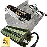 600w Omega Dimmable Digital Ballast Grow/Flower Light Kit, Reflector Hood, HPS Dual Spectrum Bulb