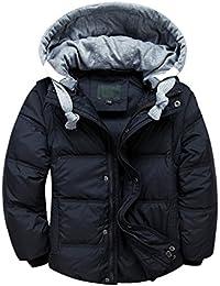 YoungSoul Chaqueta de plumas para niña y niño abrigo con capucha desmontable chalecos sin mangas cazadoras acolchados de invierno 3 años - 12 años