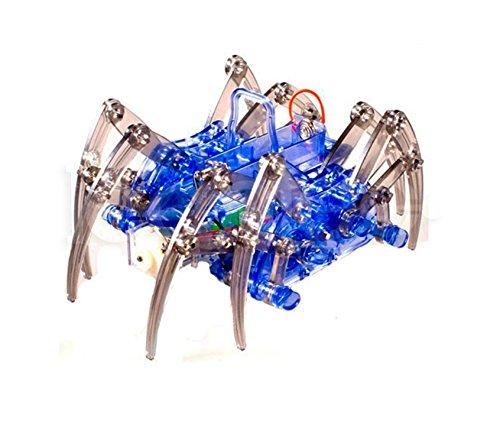 Puzzle Elektrische Spinne Roboter DIY Pädagogische Zusammenbaut Spielzeug Kits Für Kinder -