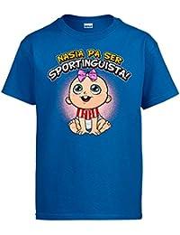 Diver Camisetas Camiseta Nacida para ser Sportinguista Sporting Gijón fútbol