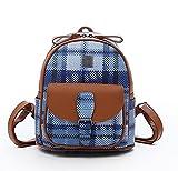 La borsa delle donne di modo, zaino multifunzionale casuale di cuoio molle, borsa (PU) 22 * 12 * 27cm