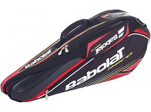 Babolat Racket Holder racchetta borsa X3 Aero Line, nero, 76 x 18 x 33 cm, 45 litri, 751040-144