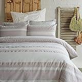Die besten Gemütliche Beddings Quilts - Lausonhouse Garn gefärbt 100% Baumwolle Seersucker Bettwäsche-Set Bewertungen