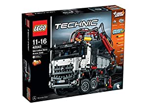 LEGO Technic 42043 – Mercedes-Benz Arocs 3245