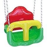 H-Collection Kinderschaukel 3 in 1, mit Seil und Befestigungshaken, 60 kg • Babyschaukel 3in1 Schaukelsitz Gartenschaukel Kleinkinderschaukel