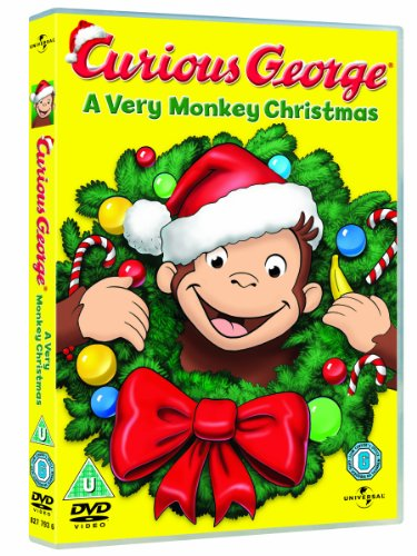Image of Curious George: A Very Monkey Christmas [DVD]