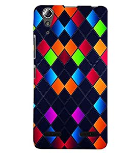 PRINTVISA Abstract Art Pattern Case Cover for Lenovo A6000 Plus
