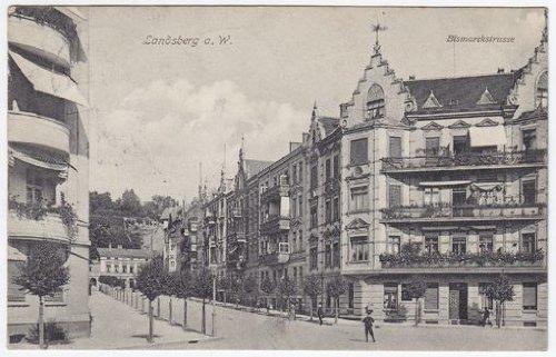 Landsberg a. W. Bismarckstrasse. gebraucht kaufen  Wird an jeden Ort in Deutschland