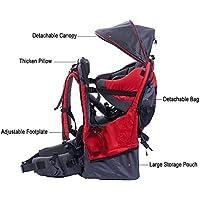Pawsfiesta Porte bébé support dorsal pour l'enfant pour les randonnées et l'excursion