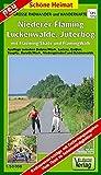 Große Radwander- und Wanderkarte Niederer Fläming, Luckenwalde, Jüterbog, mit Flaeming-Skate und FlämingWalk: Ausflüge zwischen Schönewalde, Dahme, ... und Niedergörsdorf. 1:50000 (Schöne Heimat)