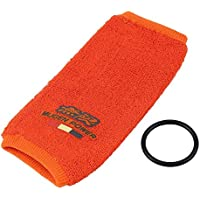 1 Set Universal Fire Proof Mugen Tank Reservoir Cover Socks Preventing The Fluid Loss for Honda Acura Civic JDM ANG - Orange