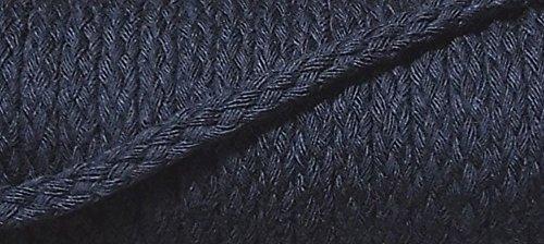 5 m Baumwollkordel 6 mm tief dunkelblau