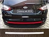 passgenau für Ford Galaxy, ab 2015; Lackschutzfolie Ladekantenschutz transparent