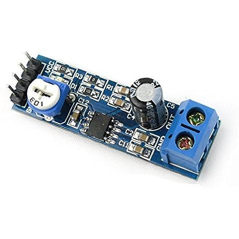 Kissing U LM386 Stereo Mono de alta Potencia Amplificador de Energía Audio Digital Junta DC4-12V fuente de Alimentación Amplificadores AMP Módulo del Tablero de Control para Grabadora /