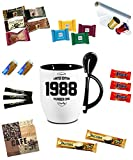 Tasse/Becher befüllt Schwarz zum Geburtstag * 30 Limited Edition * Wählen Sie aus 36 Motiven. Für ein anderes Alter einfach E-Mail an uns. Jedes Alter ist verfügbar.