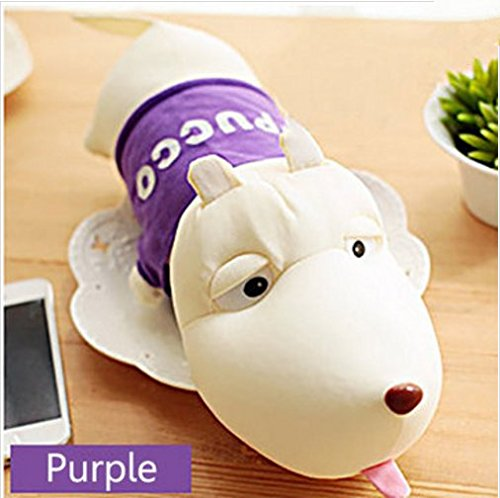 PANGUN Honana Hn-A1 Car Lufterfrischer Niedlichen Hund Aktiviert Bambuskohle Tasche Home Absorbieren Geruch Deodorant-Lila