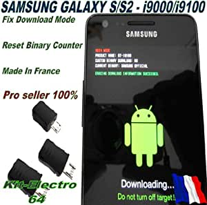 SAMSUNG GALAXY S II GT-I9100 DOWNLOAD MODE USB JIG TOOL (RESETS CUSTOM BINARY COUNTER! for all Samsung Android system)