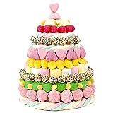 tarta cumpleaños de chuches para niña